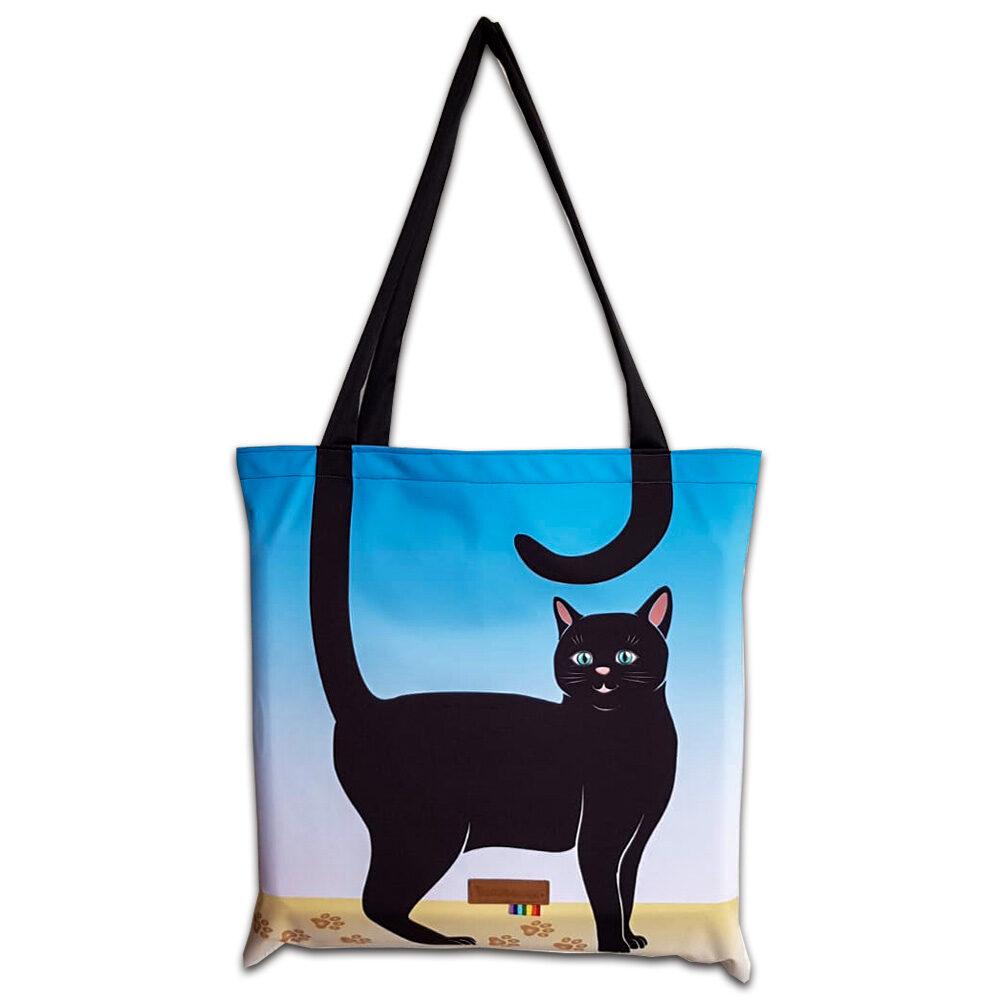 Shopper Blacky Cat